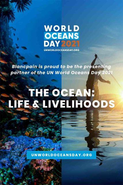 Швейцарский часовой бренд Blancpain уже не первый раз поддерживает инициативу ООН и его Отделения по вопросам океана и морского права