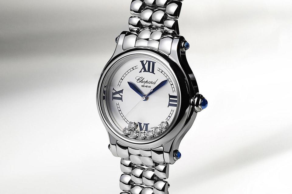 Женские часы Chopard Happy Sport впервые предстали в корпусе диаметром 33 мм