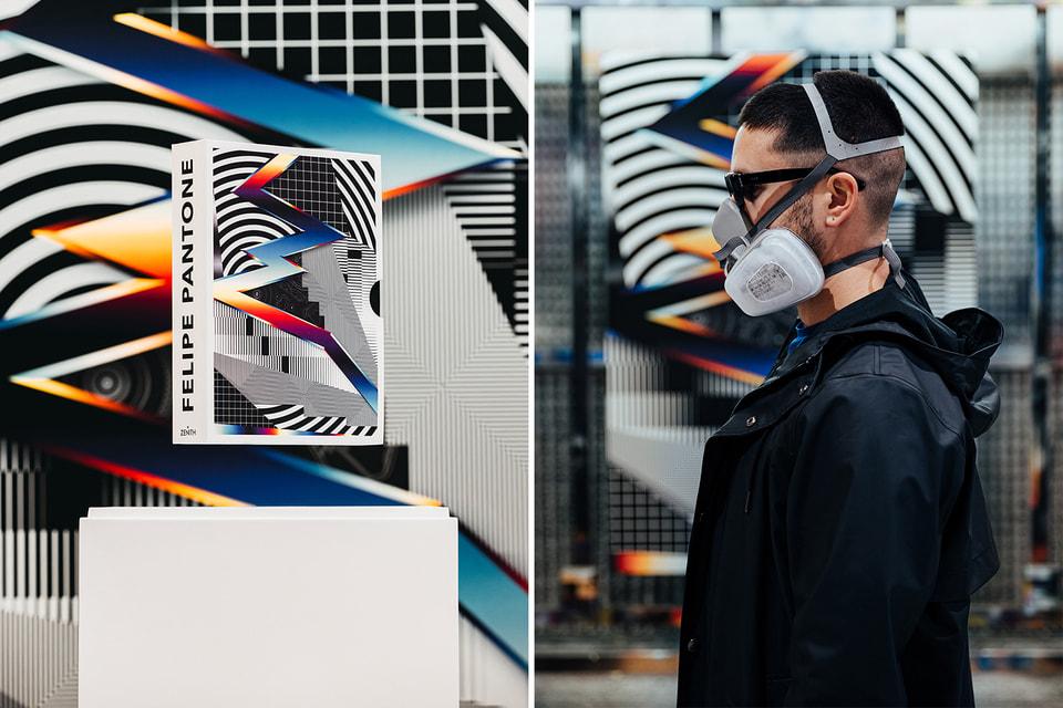 Художник Фелипе Пантоне известен своей «концепцией видимого спектра», в которой он отображает цифровую графику перехода одного цвета в другой