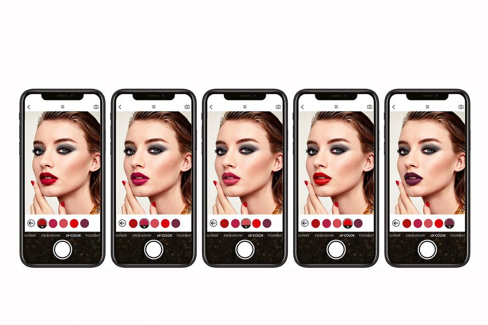 Создавать макияж и выбирать косметику Dolce & Gabbana теперь можно в режиме дополненной реальности