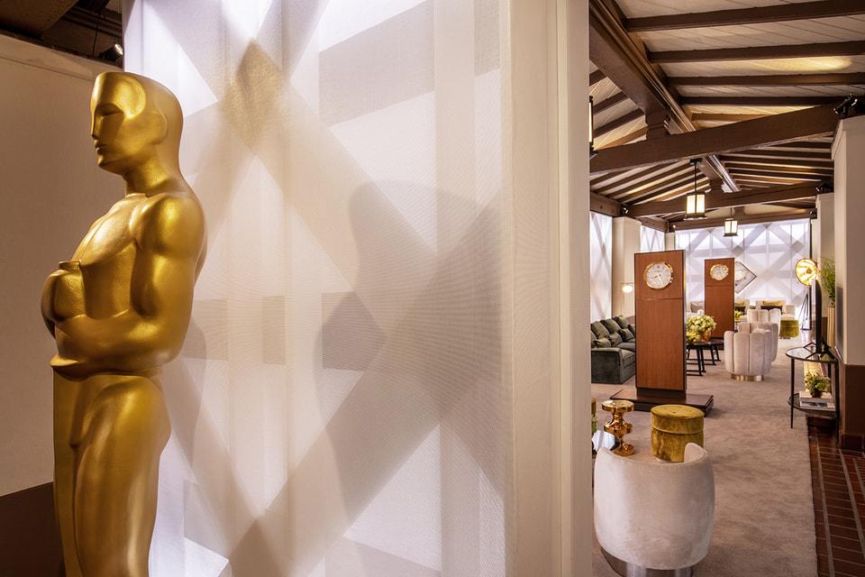 93 церемония вручения премии прошла на главном  вокзале Лос-Анджелеса и здесь же была устроена Greenroom бренда Rolex