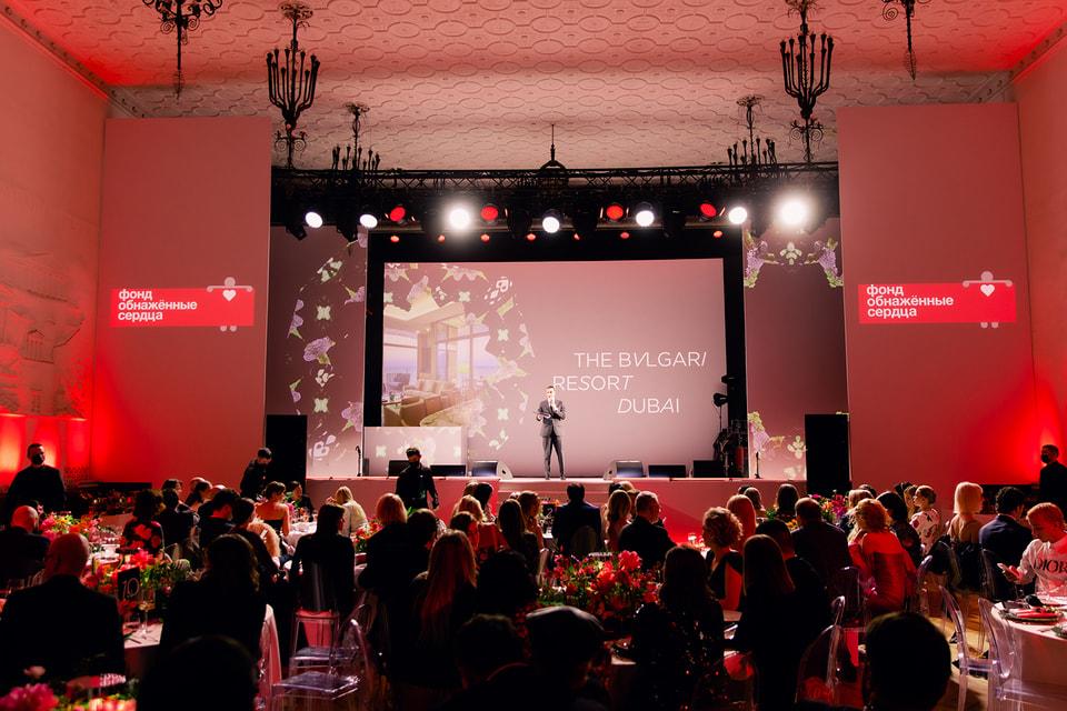 На благотворительном ужине «Метаморфозы» в пользу деятельности фонда было собрано 588 000 евро