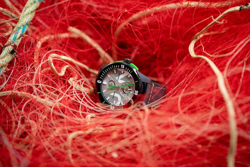 Часы Diver Net стали первым для Ulysse Nardin удачным опытом внедрения в производство принципов экологической устойчивости