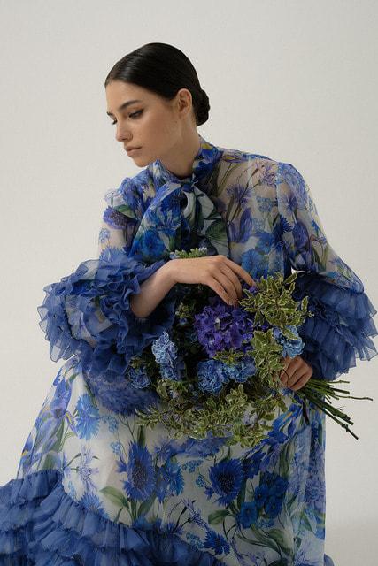 Капсульная коллекция Blue Garden создана специально для российского рынка