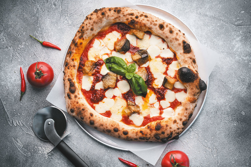 Наибольшей любовью пицца пользуется в Норвегии