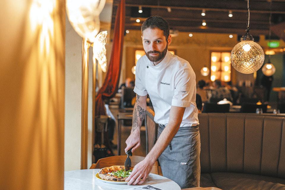 Мануэль Сурачи – бренд-пицца шеф всех ресторанов Арама Мнацаканова