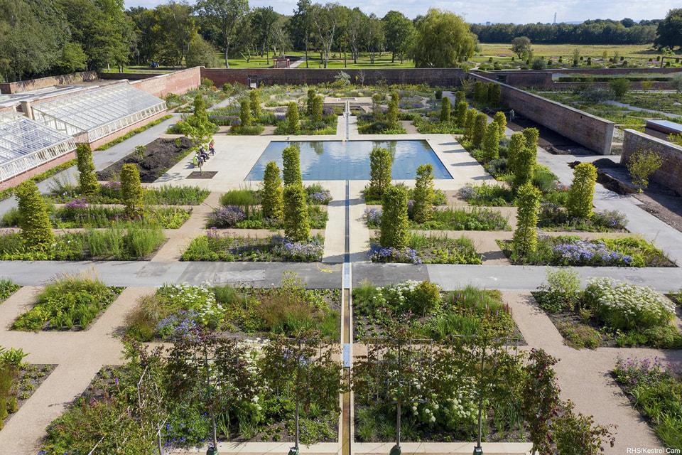 Так выглядит сад «Бриджуотер» Королевского садоводческого общества