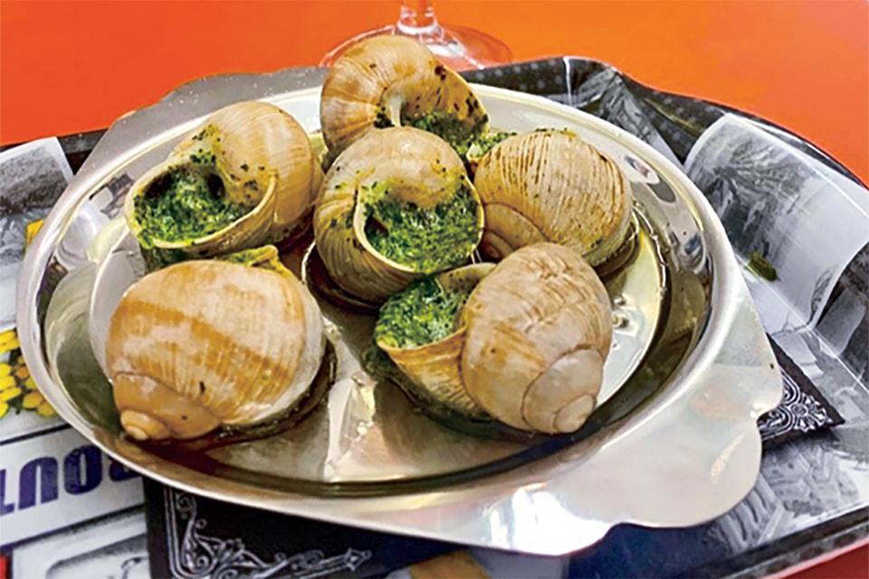 Улитки по-бургундски– это экологически чистое блюдо
