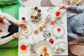 Традиция five o'clock tea появилась в Англии в XIX веке