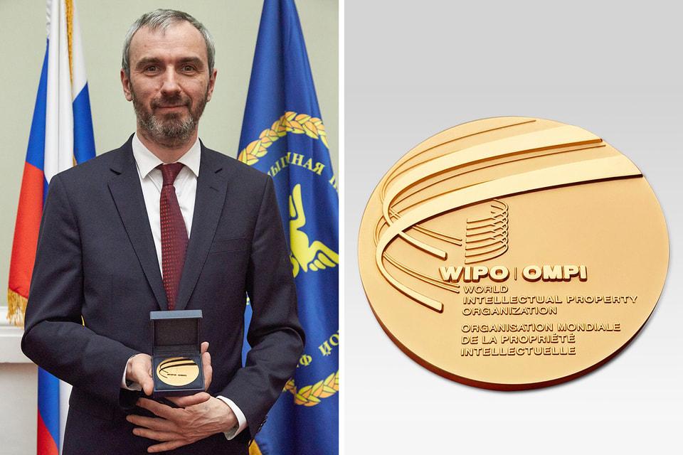 Константин Чайкин стал первым в мире мастером-часовщиком, удостоившимся Золотой медали ВОИС «За изобретательство»