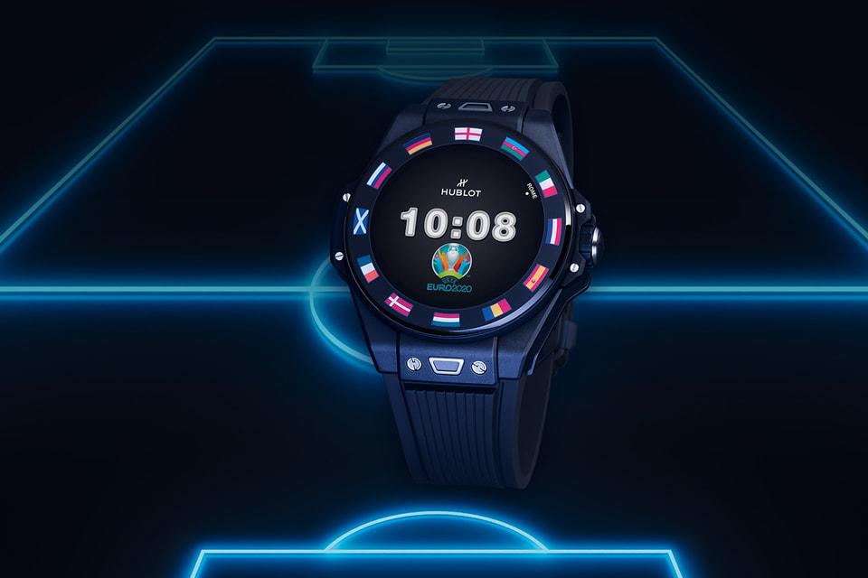 Часы Hublot Big Bang e UEFA EURO 2020 работают на базе программного обеспечения WearOS от Google
