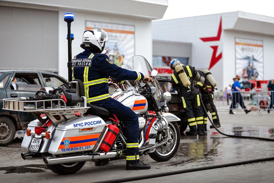 МЧС России поставило на службу 11 новых Road King Police
