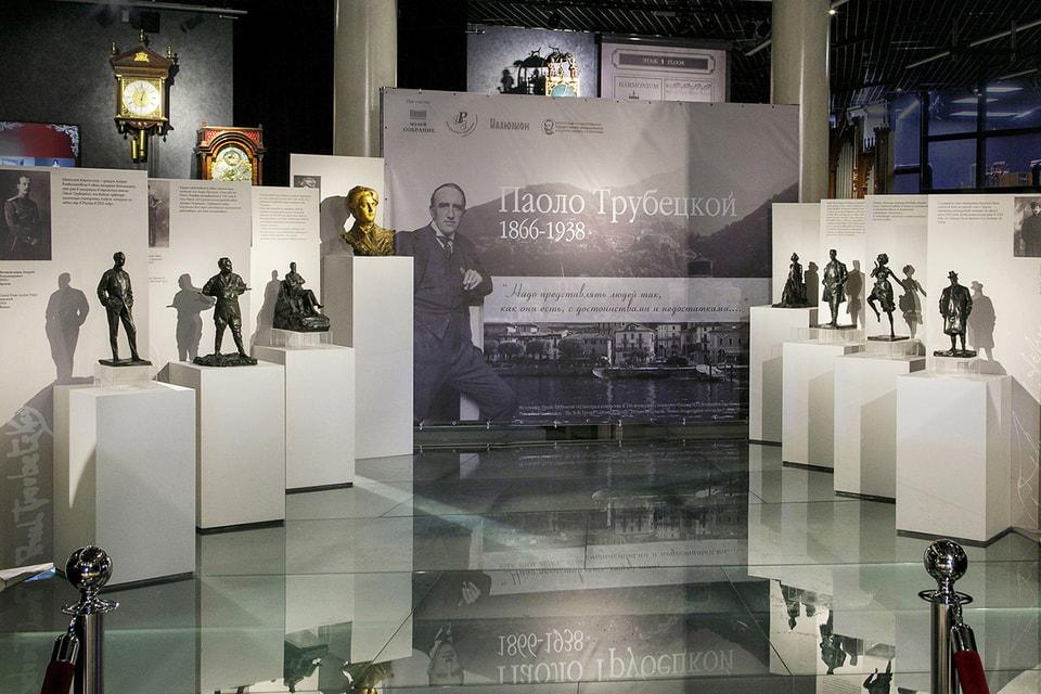 Выставка работ Паоло Трубецкого продлена до конца мая.