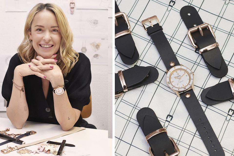 Дизайнер одежды Марина Херманседер впервые сотрудничает с Rado