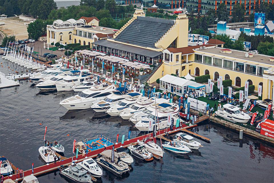 Выставка Moscow Yacht Show проходит уже в четвертый раз