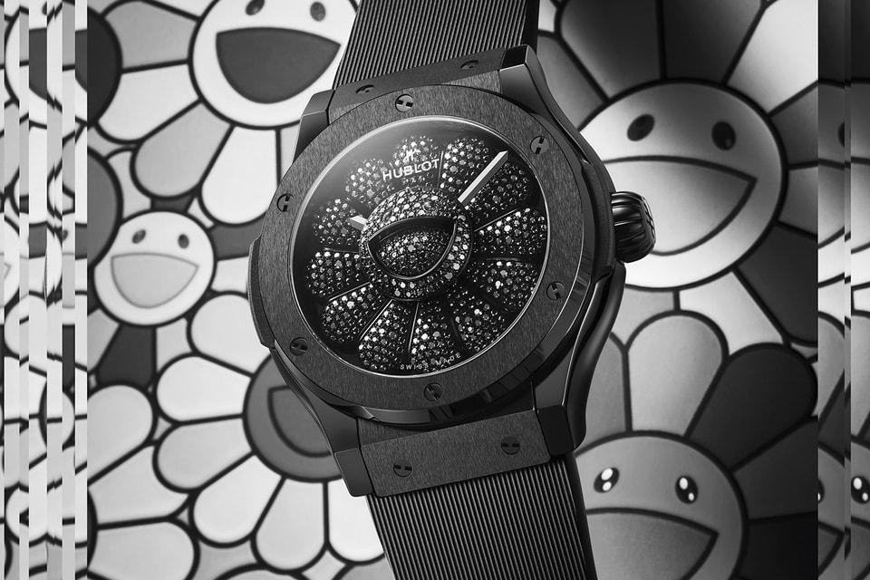 Арт-объект на запястье – часы Classic Fusion Takashi Murakami All Black, созданные для Hublot художником Такаси Мураками