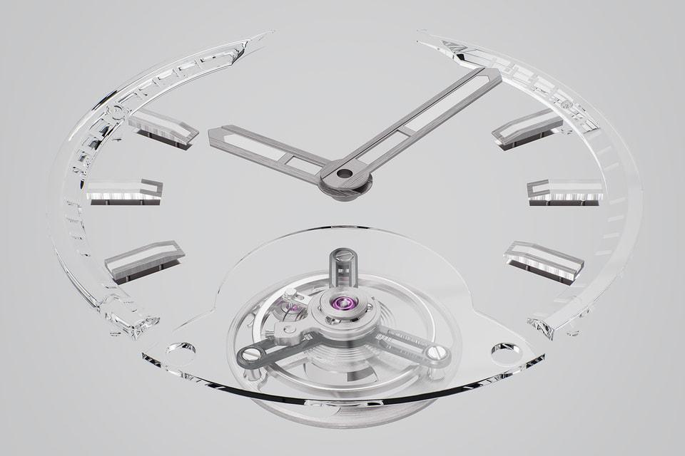 Эксперименты с инновационными материалами – одно из направлений развития часового искусства