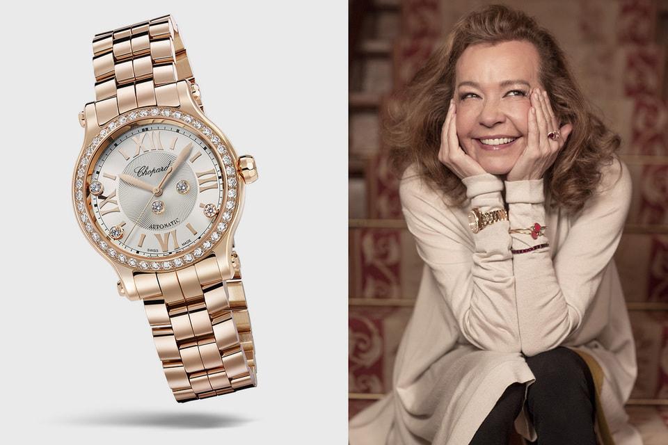 Каролина Шойфеле, создательница коллекции часов Happy Sport и украшений Happy Diamonds