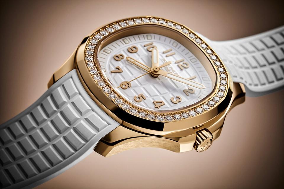 Женские часы Aquanaut Luce увеличились до диаметра в 38,8 мм и получили новый ремешок