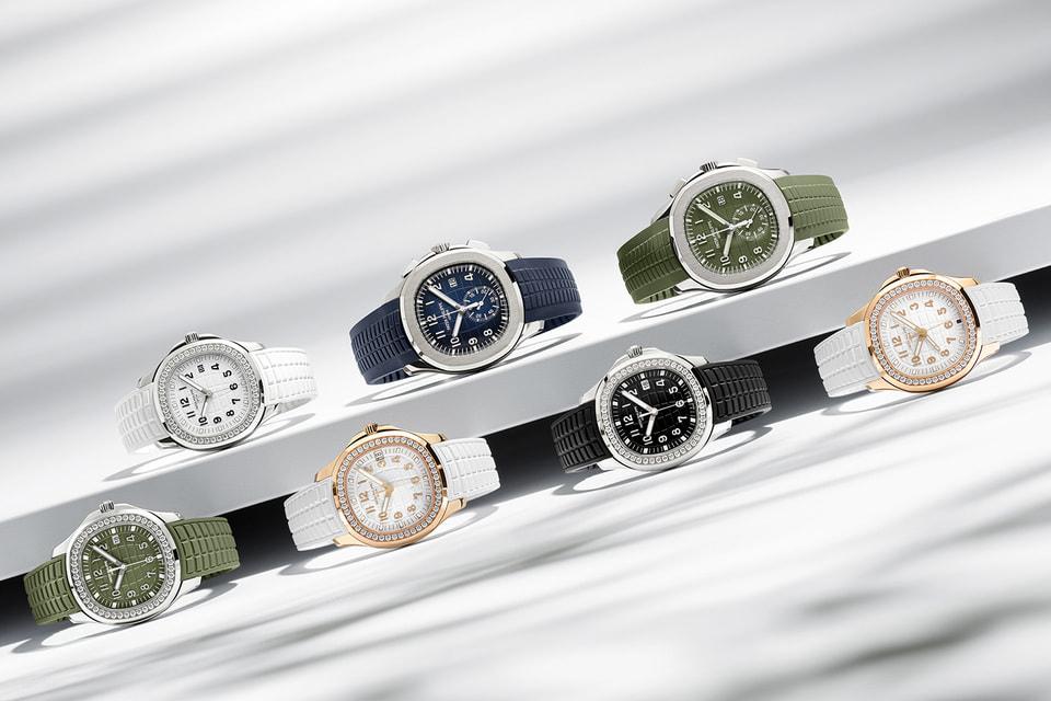 Коллекция Aquanaut мануфактуры Patek Philippe пополнилась 4 женскими моделями Aquanaut Luce и двумя мужскими хронографами