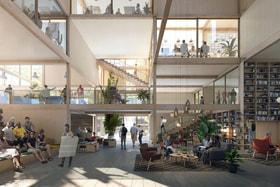 Проект Urban Village компании IKEA предполагаетсовместное проживаниепредставителейразных поколенийв центре крупных городов