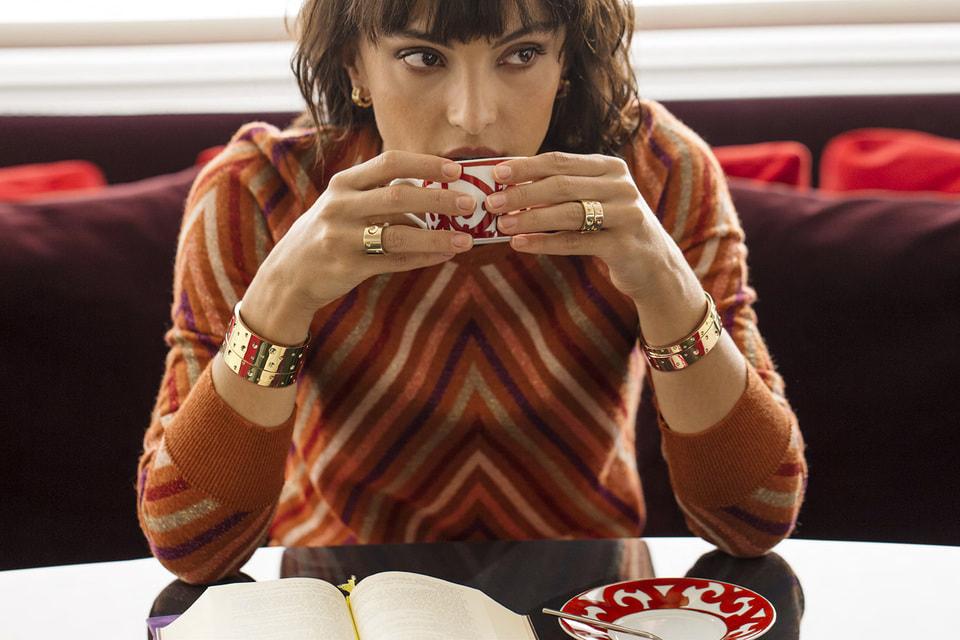 Кольца, серьги и широкие браслеты Pois Moi отвечают в коллекциях украшений Roberto Coin за индустриальный стиль