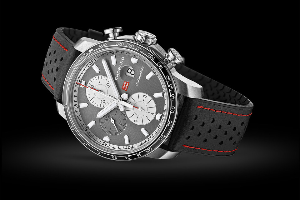 Хронограф Mille Miglia 2021 Race Editon создан на мануфактуре Chopard специально к ралли 1000 Miglia
