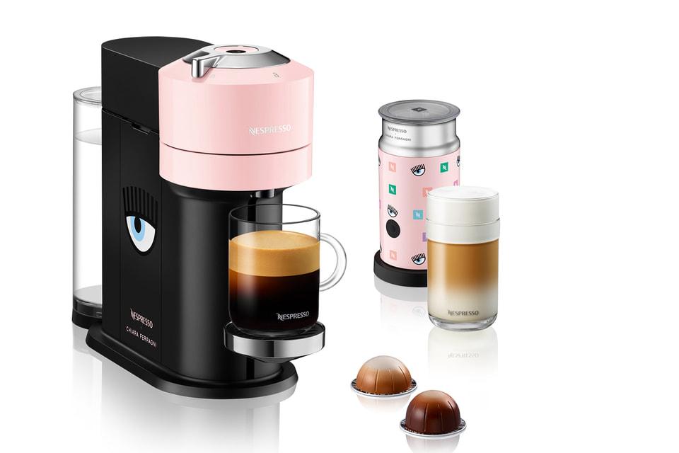 Среди предметов коллекции - кофемашина и термокружка в авторском дизайне Кьяры Ферраньи