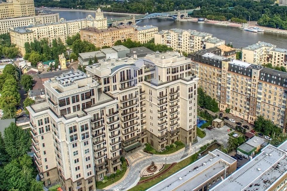 Хамовники занимают 31% на вторичном рынке элитной недвижимости в Москве