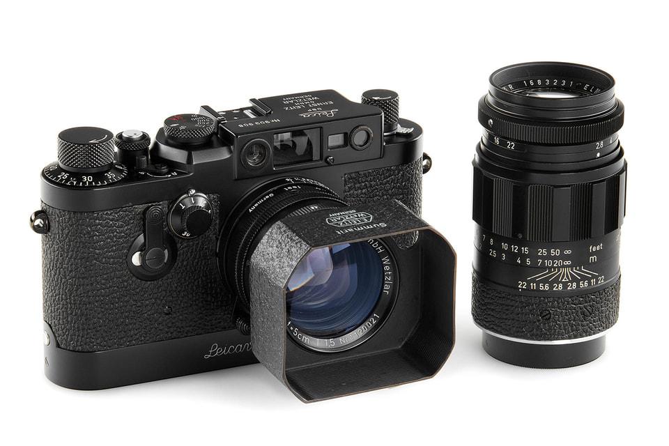 Цена классических и винтажных камер в эксклюзивном исполнении с годами растет в цене в геометрической прогрессии