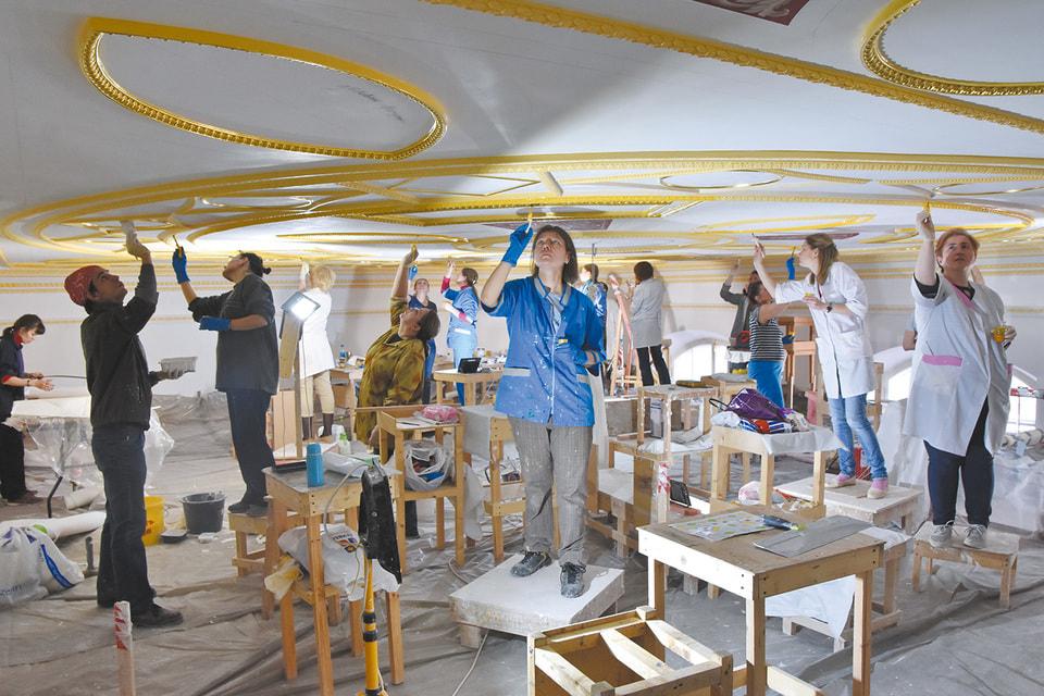 Реставрация Лионского зала началась в2017году