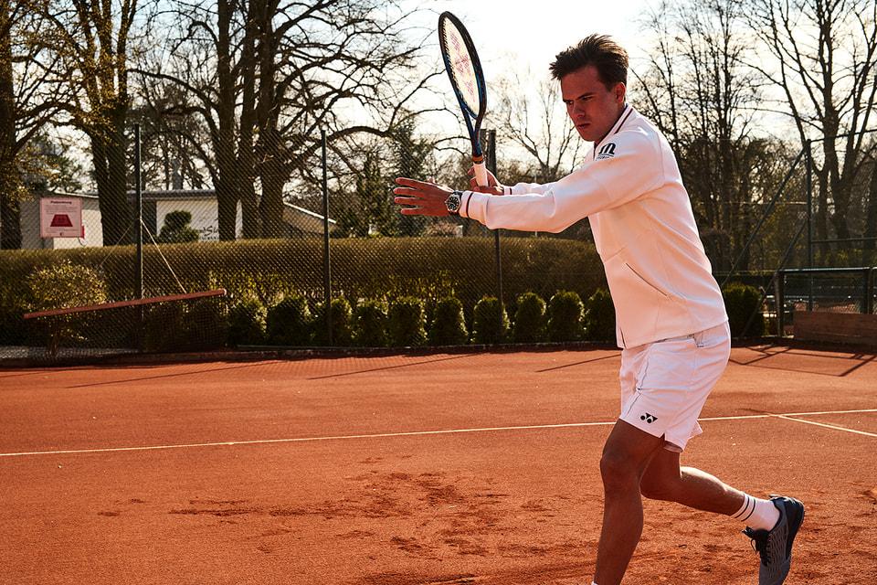 Немецкий профессиональный теннисист Даниэл Альтмайер – член команды MLCrew и посланник часового бренда