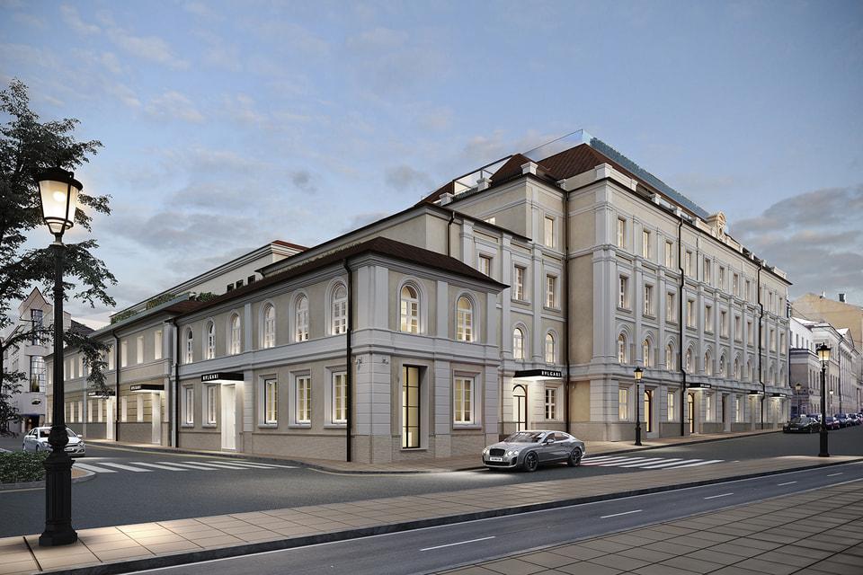 Клубный дом Bvlgari Hotel & Residences Moscow