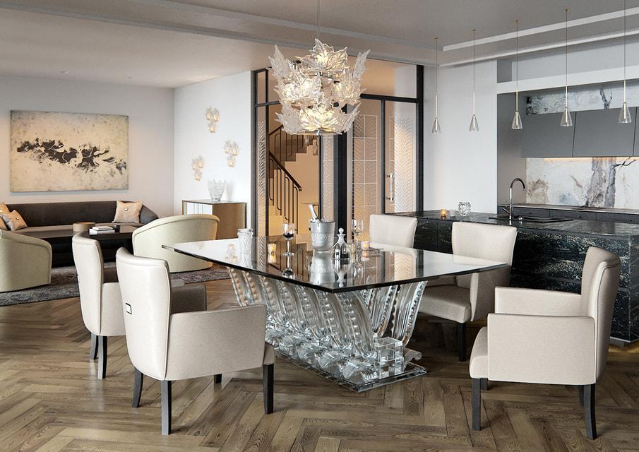 Апартаменты и два пентхауса в клубном доме Kuznetsky Most 12 by Lalique будут предлагаться будущим владельцам с чистовой отделкой