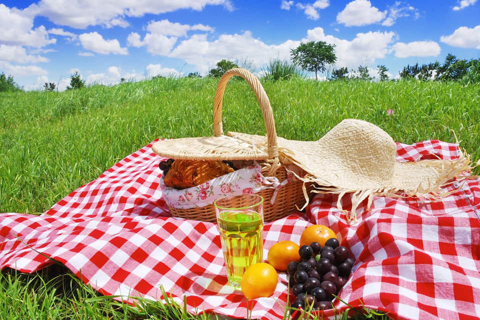 Блюда для пикника могут быть полезными и изысканными