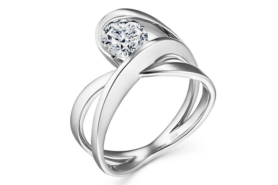 В основу дизайна украшений из новой летней коллекции Alrosa Diamonds легла идея бесконечности круга