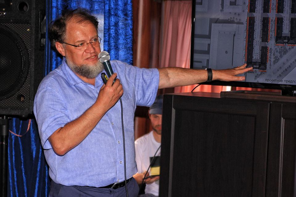 Глава архитектурного бюро «Студия 44» Никита Явейн