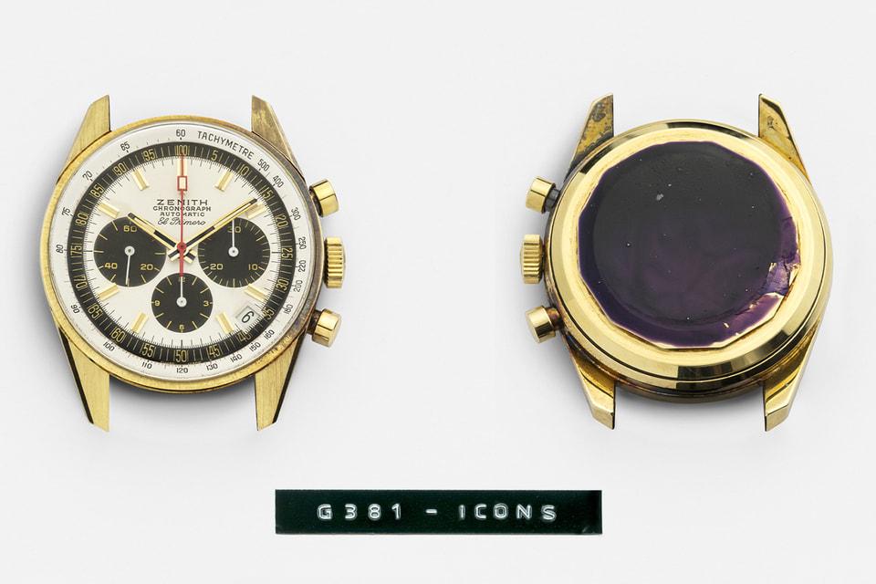 Cозданные в 1969 году знаковые часы  El Primero G381 наряду с другими винтажными моделями Zenith теперь доступны онлайн