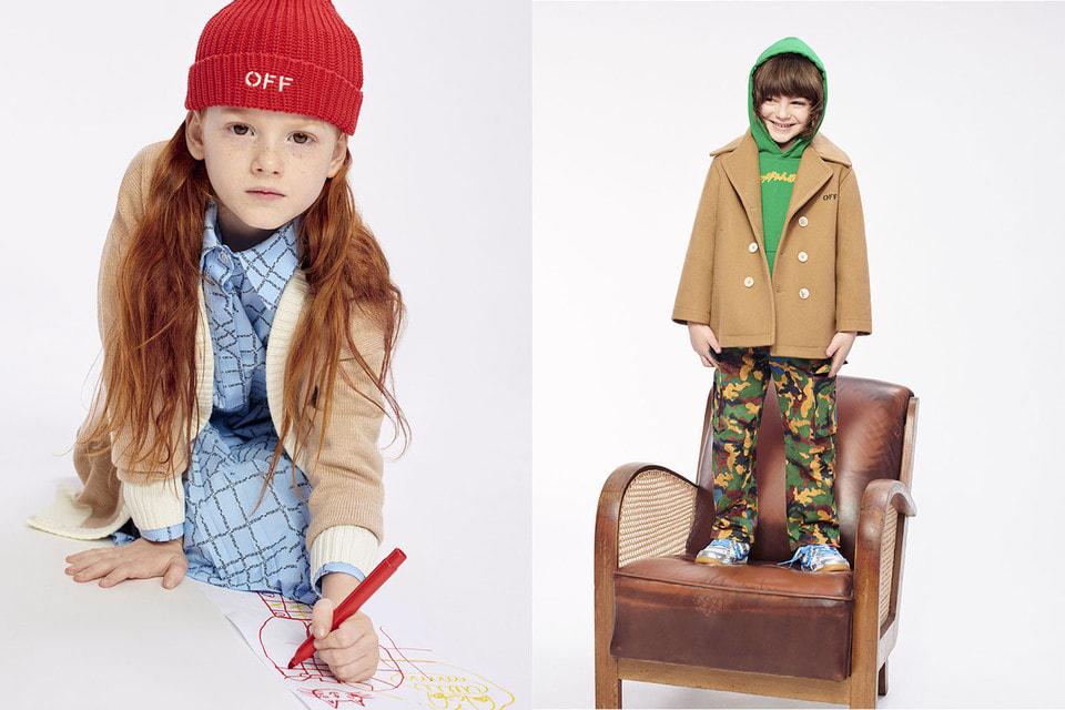 Первая детская коллекция Off-White представлена в ЦУМе