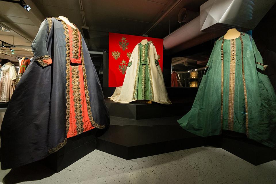 Мундирные платья императрицы Екатерины II
