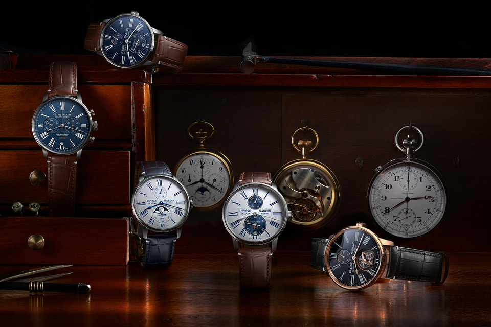 Семь моделей часов Marine Torpilleur обладают отличительными особенностями старинных морских хронометров, а также новыми элементами дизайна и механизма