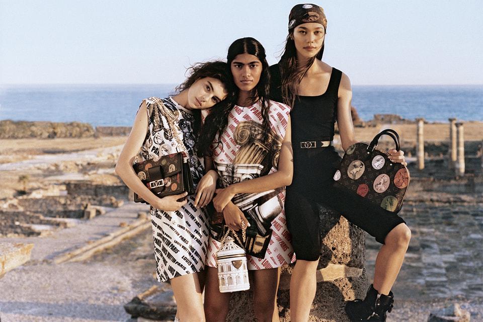 В Louis Vuitton переосмыслили работы художника Пьеро Форназетти и перенесли их на одежду и аксессуары