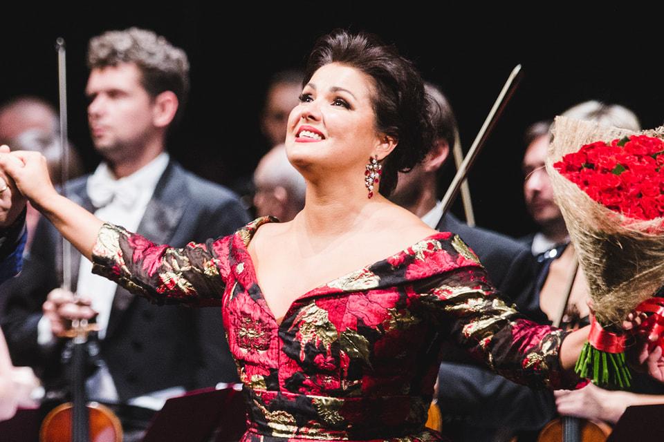 Мировая оперная дива Анна Нетребко отметит свой полувековой юбилей гала-концертом в Кремлевском дворце
