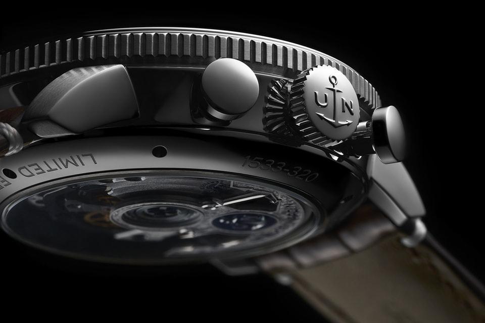 По традиции заводную коронку часов Marine Torpilleur украшает выгравированное изображение якоря, символа Ulysse Nardin