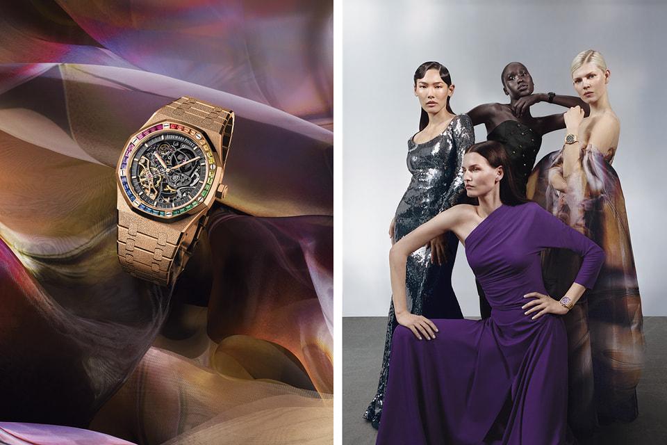 Четыре новые женские модели Royal Oak демонстрируют калейдоскоп образов, которые способны угодить вкусам разных жещин