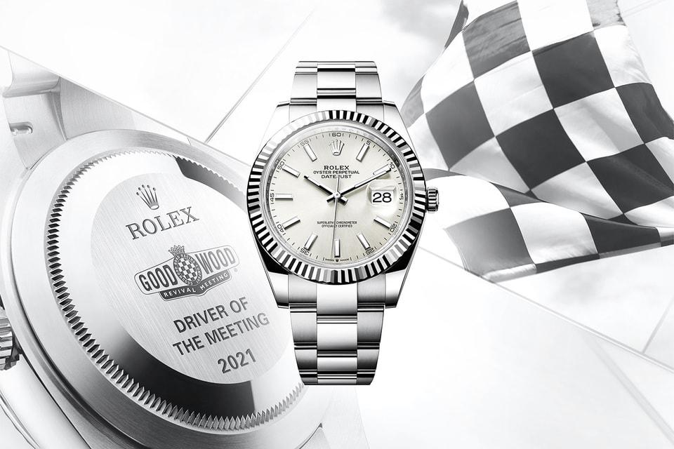 Rolex выступает официальным хронометристом и партнером фестиваля Goodwood Revival уже 17 лет