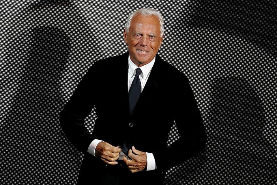 Джорджо Армани, модельер, президент и исполнительный директор Armani Group