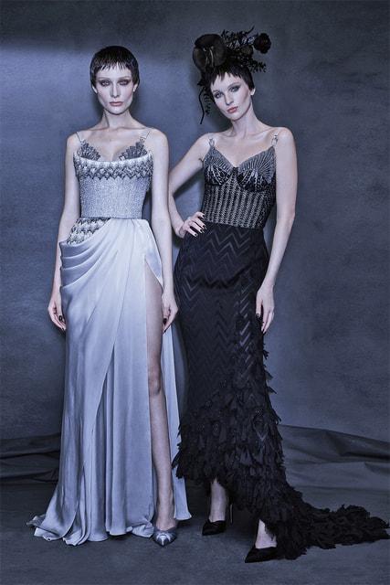 Платья из коллекции Ulyana Sergeenko Haute Couture осень-зима 2021/22