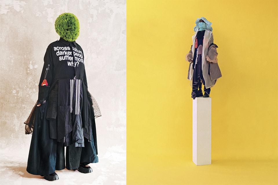 Образы из коллекции Paulo Redeem дизайнера Наа-Амерли Баджер