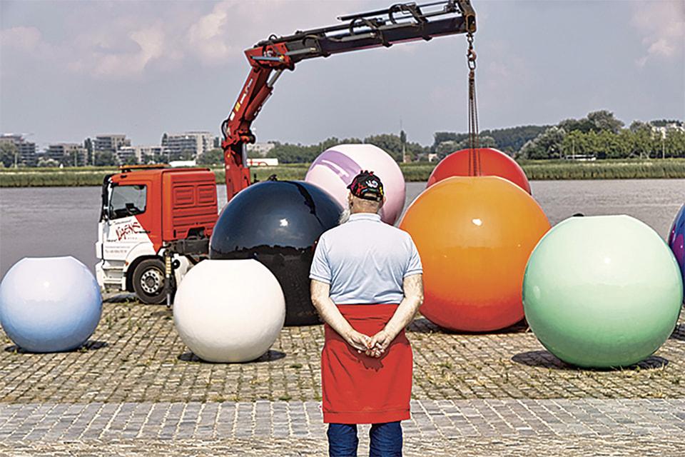 Фрагмент проекта «Модные шары»
